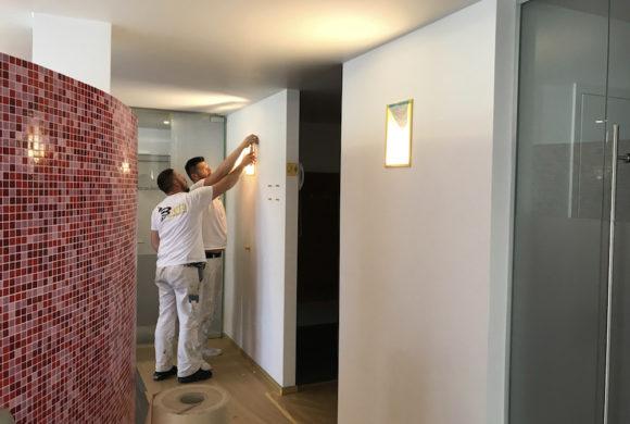 Wir führen auch Malerarbeiten im Innenraum durch